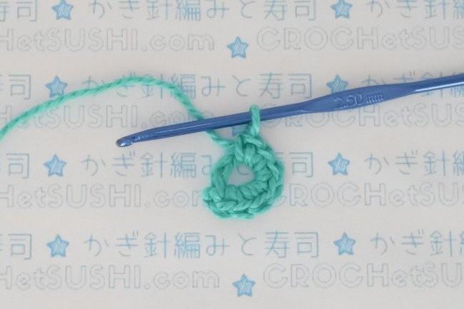 Flor de 6 pétalas de crochê - Passo-a-passo