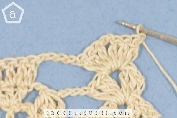 Ponto folha de crochê passo-a-passo - crochet pattern step by step