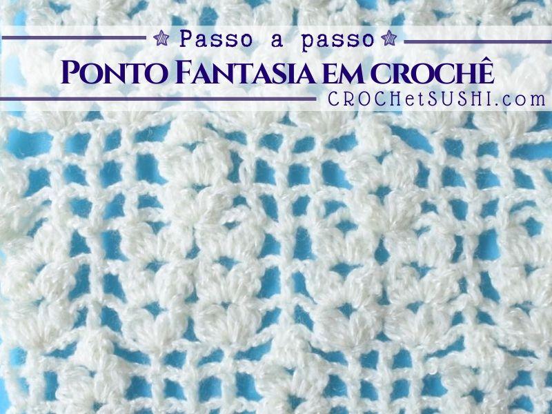 Gráfico de Ponto Fantasia em Crochê 202003