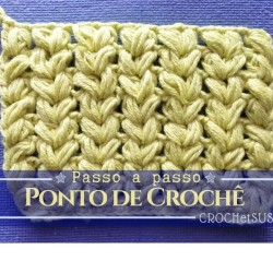 Ponto de Crochê 2004 Passo a Passo e Gráfico